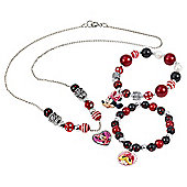 Minnie Mouse Charm Jewellery Kit