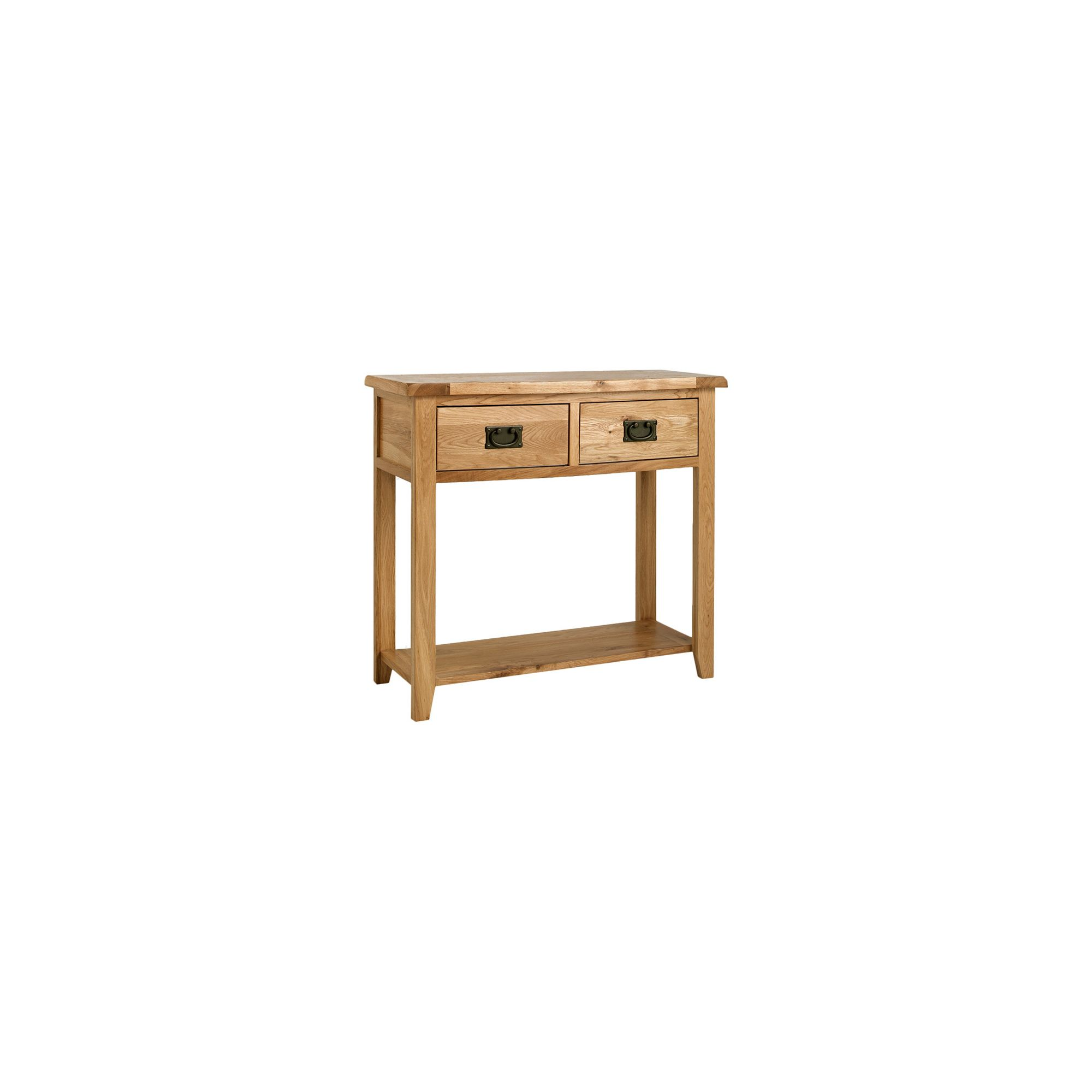 Ametis Westbury Reclaimed Oak Console Table at Tesco Direct