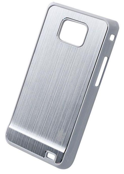 Tortoise™ Hard Case Samsung Galaxy SII Brushed Metal Silver