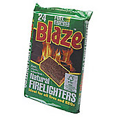 Fuel Express Fire Lighter Cubes, Pack of 24