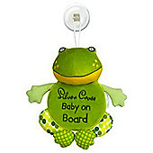 Silver Cross - Riverbank - Webster Frog - Baby On Board