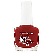 Maybelline SuperStay 7 Days Nail Colour Deepred 12