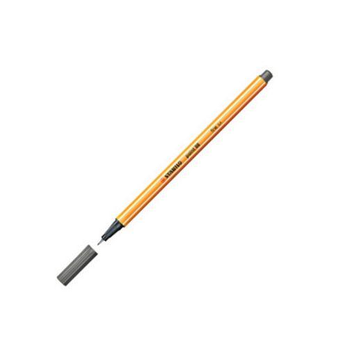 Stabilo Point 88 Fineliner Pen Dark Grey 96