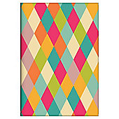 Geometric Colours A6 Notebook