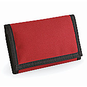 Bagbase Ripper Wallet with Expandable Coin Pocket Red