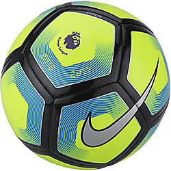 Nike Premier League Pitch Football - Volt/Silver Size - 5