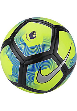 Nike Premier League Pitch Football - Volt/Silver - Yellow