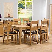 Stirling Oak 1.6m Extending Dining Table