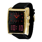 Black Dice Duo Mens Dual Time Watch BD04906
