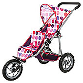 Mamas & Papas Double Decker Sugar Toy Pushchair Spot