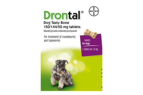 Drontal Tasty Bone - 24 Tablets