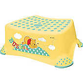Disney Winnie the Pooh Toddler Toilet Training Step Stool - Yellow