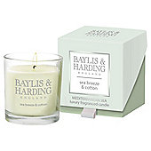 Baylis & Harding Sea Breeze And Cotton Boxed Candle