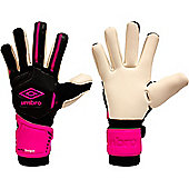 Umbro Neo Pro Shot Gun Cut Goalkeeper Gloves - Black