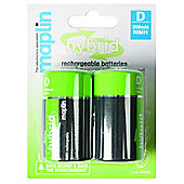 Maplin Hybrid Rechargeable AA Battery 2100Mah 4 Pack
