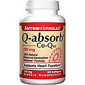 Jarrow Q Sorb Co Q 10 100mg 60 Softgels