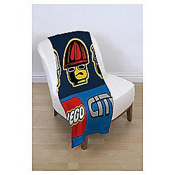 LEGO City Fleece Blanket