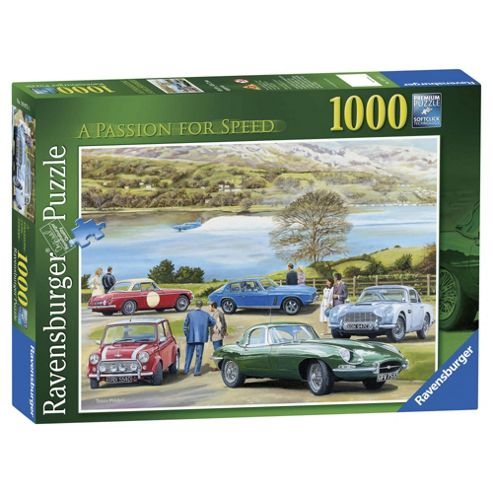 Ravensburger The Passion for Speed, 1000 Piece Puzzle