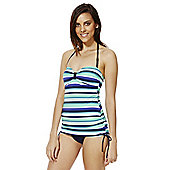 F&F Magic Striped Tankini Swimsuit - Blue