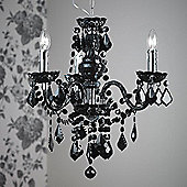 Endon Lighting Chandelier in Black Acrylic