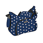 Baby Elegance Cody Changing Bag, Navy Polka