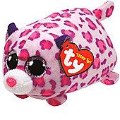 TY - Teeny Tys Plush - Olivia the Pink Leopard