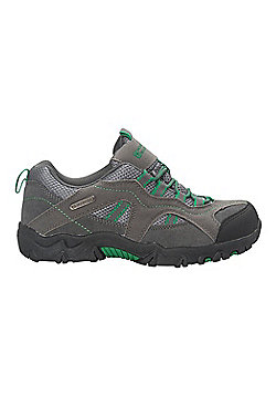Stampede Kid's Waterproof Walking Shoes - Green