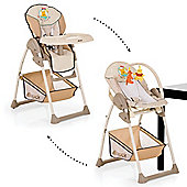 Hauck Sit n Relax Highchair/Bouncer (Pooh Ready to Play)
