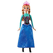 Disney Frozen Sparkle Anna Doll