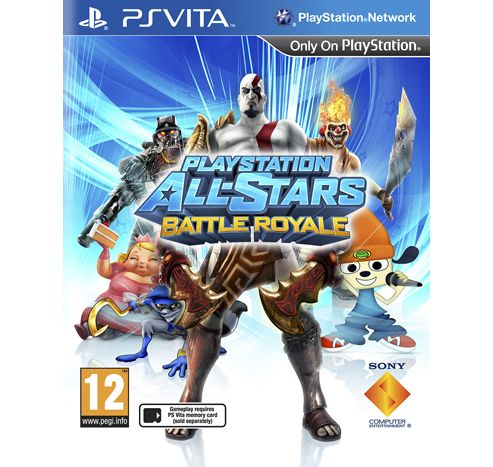 Playstation All-Stars Battle Royal Psvita