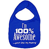 Dirty Fingers I'm 100% awesome just like my Aunty Bib R. Blue