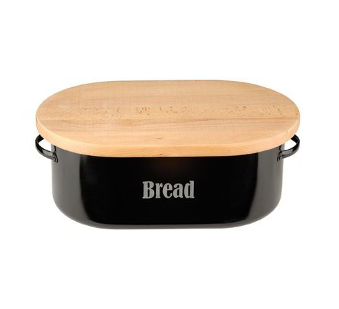 Typhoon Black Bread Bin