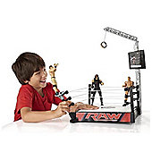 WWE Super Strikers Turnbuckle Takedown Ring