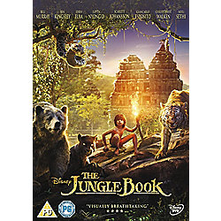 The Jungle Book 2016 DVD