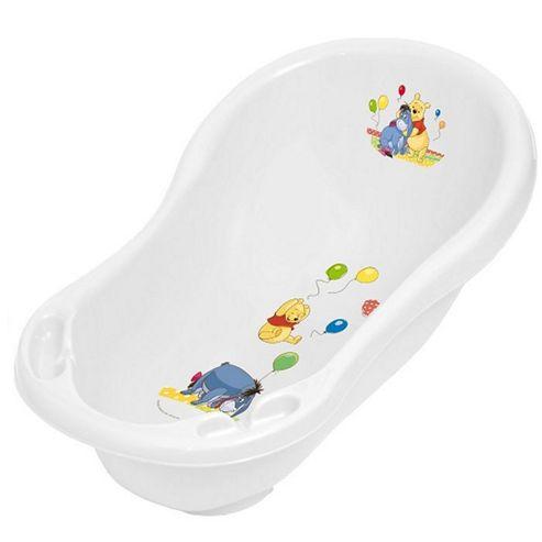 buy disney winnie the pooh baby bath tub from our bath. Black Bedroom Furniture Sets. Home Design Ideas