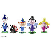 Ben and Holly Collectable 5 Figure Pack