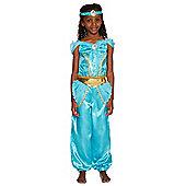 Disney Princess Jasmine Dress-Up Costume - 5-6 yrs