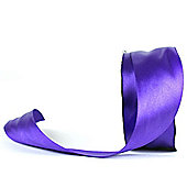 Satin Ribbon - 38mm x 25m - Purple