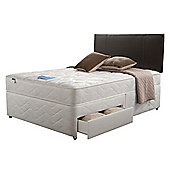 Silentnight Miracoil Kingston Double 4 Drawer Divan set