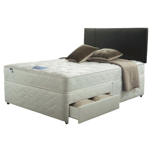 Silentnight Double Divan Set - Miracoil Kingston, 4 Drw