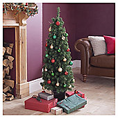 Topiary 4ft Christmas Tree, Tesco