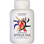 Xynergy Spirulina 500mg 200 Tablets