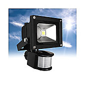 MiniSun IP66 High Power 10W Daylight LED Floodlight with PIR Sensor