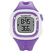 Garmin Forerunner 15 Running Watch Violet/White with Heart Rate Monitor