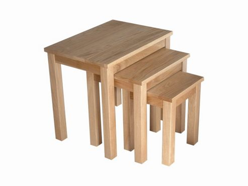 Home Zone Rio Occasional Nest of Three Tables