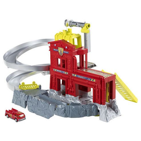 Matchbox Cliff Hangers Fire Station Playset