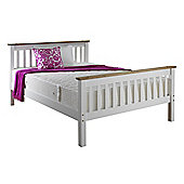 Amani Devon Bed Frame - Single (3') - White