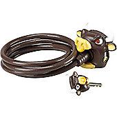 Crazy Stuff Cable Lock: Bull.