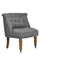 Ashley Occasional Chair Grey Fabric