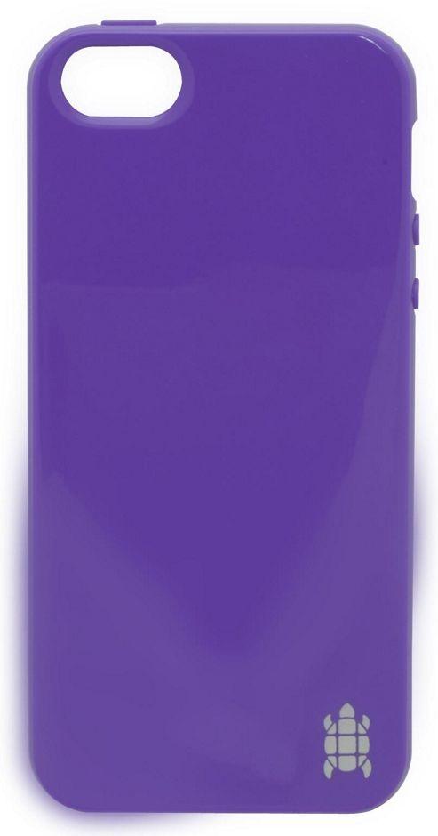 Tortoise™ Look Soft TPU Case iPhone 5 Purple